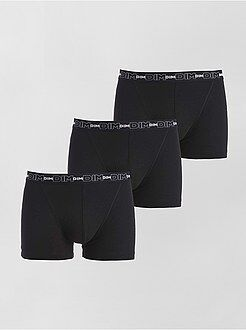 Lot de 3 boxers en coton stretch de 'Dim'