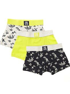 Lot de 3 boxers en maille stretch