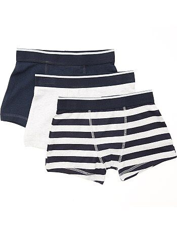 Lot de 3 boxers fantaisie