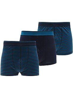 Sous-vêtements - Lot de 3 boxers grandes tailles