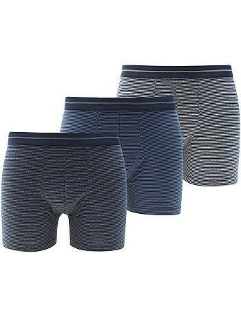 Lot de 3 boxers longs