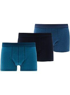 Sous-vêtements - Lot de 3 boxers unis