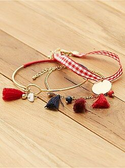 Bijoux - Lot de 3 bracelets