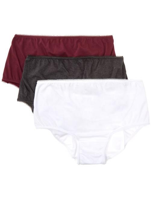 Lot de 3 culottes de maternité                                                     BLANC