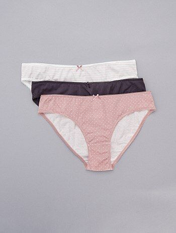 Lot de 3 culottes 'eco conception'
