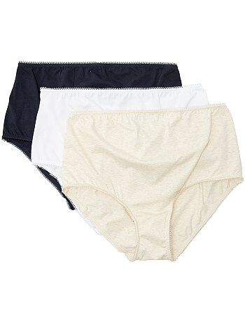 Lot de 3 culottes maternité
