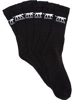 Sport - Lot de 3 paire de chaussettes 'Airness' - Kiabi