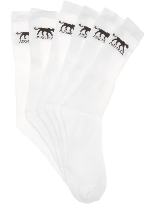 Lot de 3 paires de chaussettes 'Airness'                             blanc Grande taille homme