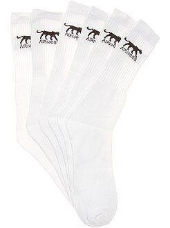 Sport - Lot de 3 paires de chaussettes 'Airness' - Kiabi