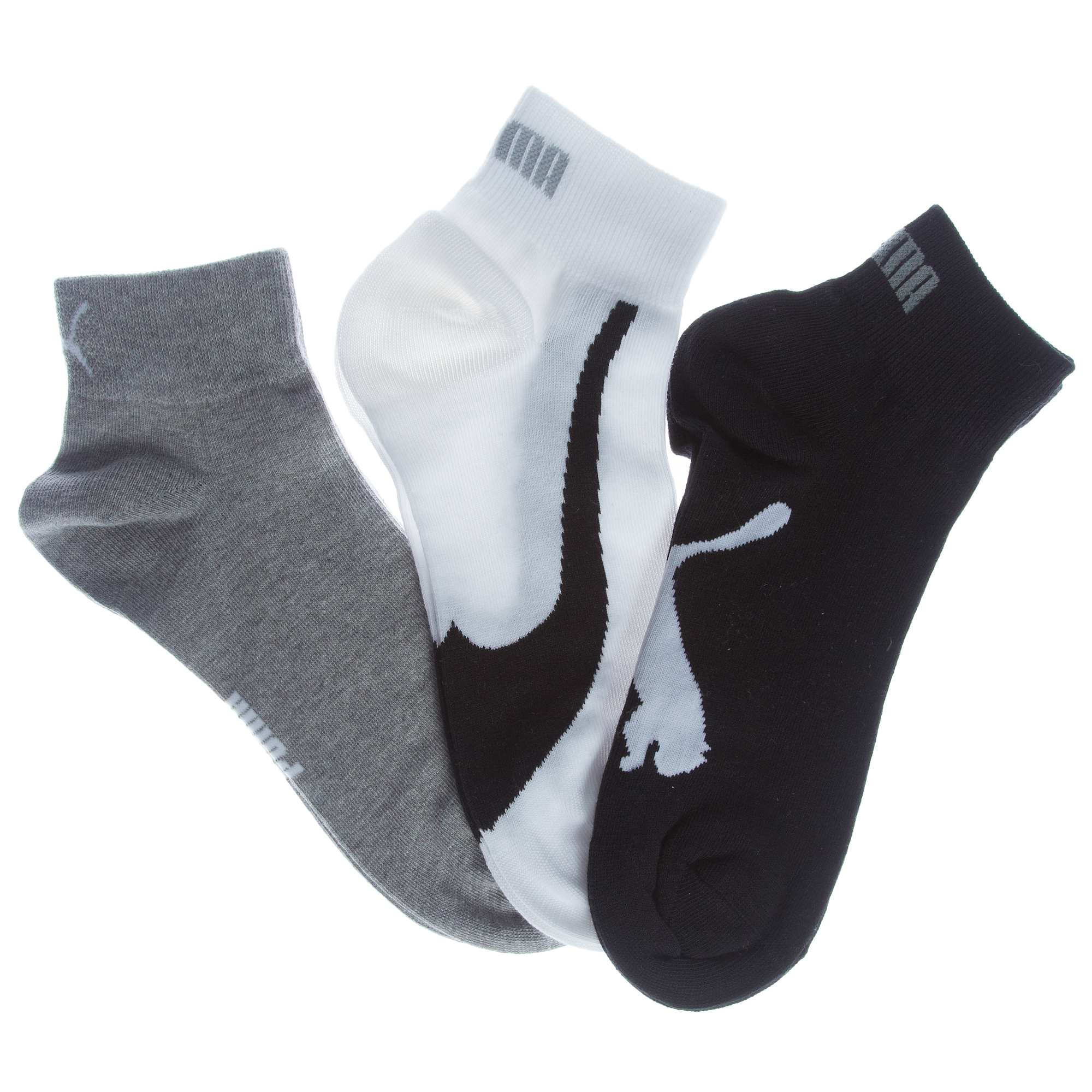lot de 3 paires de chaussettes basses 39 puma 39 homme kiabi 7 99. Black Bedroom Furniture Sets. Home Design Ideas