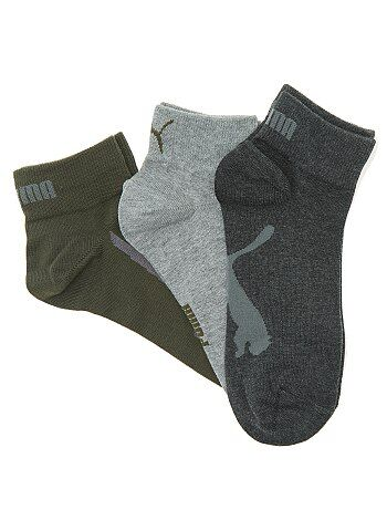 Lot de 3 paires de chaussettes basses 'Puma' - Kiabi