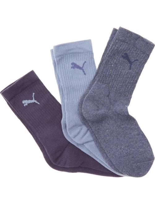 Lot de 3 paires de chaussettes de sport 'Puma'                                                     bleu chine