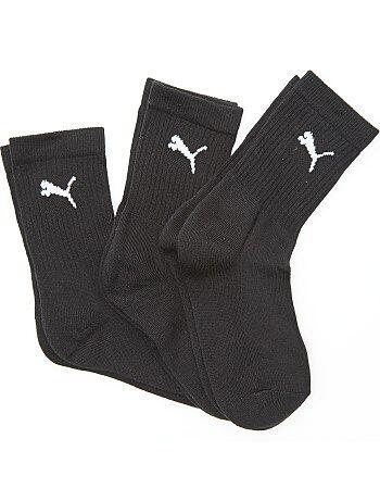Lot de 3 paires de chaussettes de sport 'Puma' - Kiabi