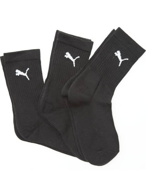 Lot de 3 paires de chaussettes de sport 'Puma'                                                         noir