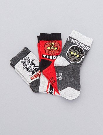 Lot de 3 paires de chaussettes `Lego Ninjago`