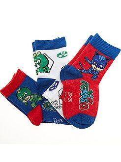 Chaussettes - Lot de 3 paires de chaussettes 'PjMasks'