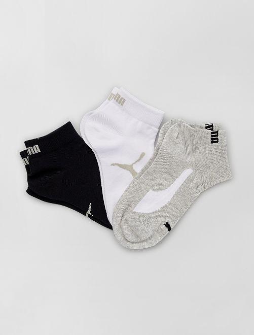 Lot de 3 paires de chaussettes 'Puma'                                                                 blc/gris/noir
