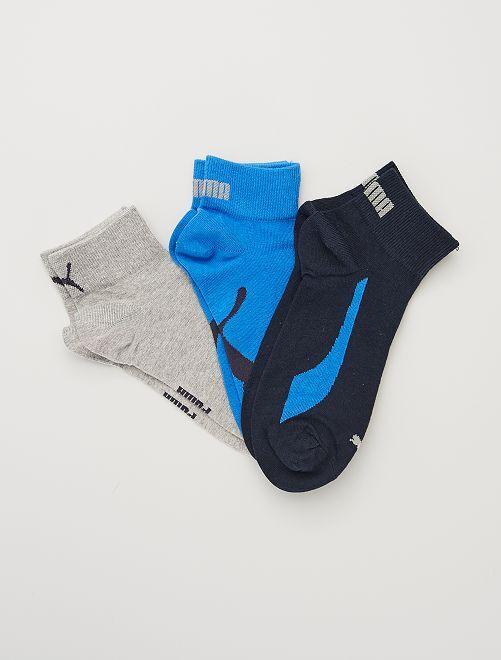 Lot de 3 paires de chaussettes 'Puma'                                                                 bleu