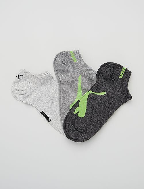 Lot de 3 paires de chaussettes 'Puma'                                                                 gris