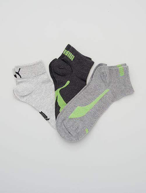Lot de 3 paires de chaussettes 'Puma'                                                                 noir/gris