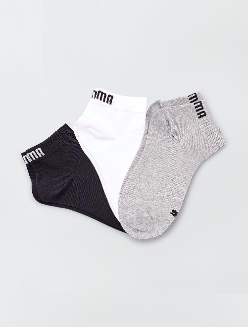 Lot de 3 paires de chaussettes 'Puma' tige courte                                                     BEIGE