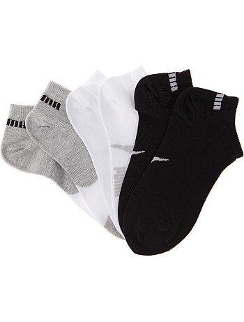 Lot de 3 paires de chaussettes 'Puma' tige courte - Kiabi