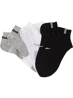 Fille 3-12 ans Lot de 3 paires de chaussettes 'Puma' tige courte