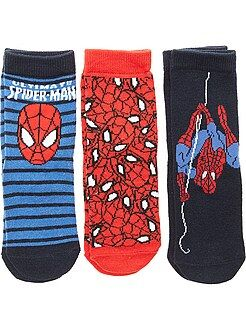 Chaussettes - Lot de 3 paires de chaussettes 'Spider-Man'