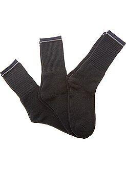 Sport - Lot de 3 paires de chaussettes sport