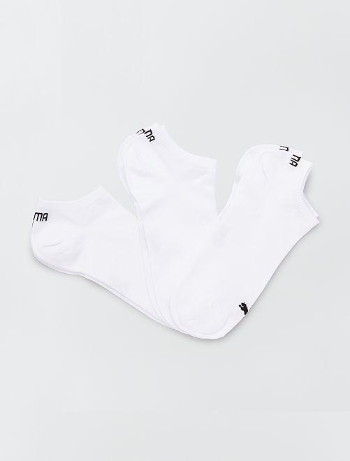 Lot de 3 paires de socquettes 'Puma'                                                         blanc