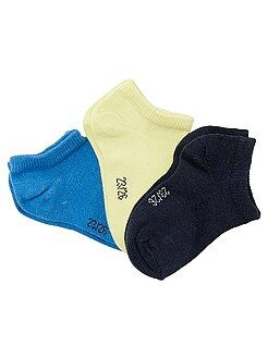 Chaussettes - Lot de 3 paires de socquettes