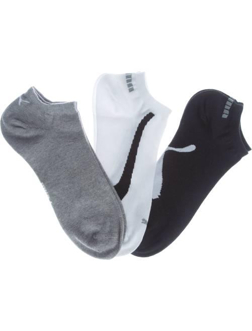 Lot de 3 paires de socquettes 'Puma'                                         blanc/gris/noir