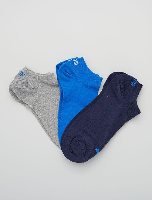 Lot de 3 paires de socquettes 'Puma'                                                                                                                                                     bleu
