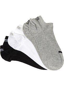 Chaussettes - Lot de 3 paires de socquettes 'Puma'