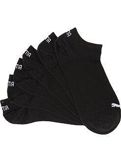 Chaussettes - Lot de 3 paires de socquettes 'Puma' - Kiabi