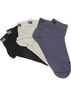 Chaussettes - Lot de 3 paires de soquettes 'Puma' tige courte