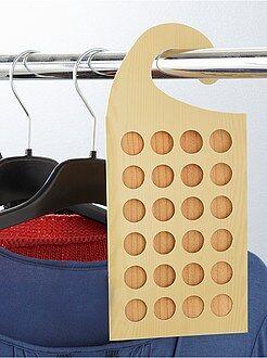 Déco textile - Lot de 3 plaquettes en bois de cèdre anti-mites