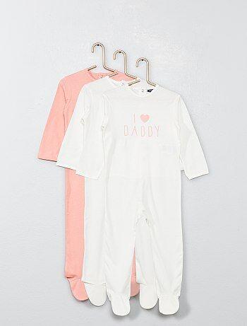 777cf58cf1152 Lot de 3 pyjamas - Kiabi