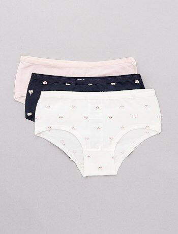 5d5899605d2c9 Soldes sous-vêtements fille - body, brassière, t-shirt & culotte ...