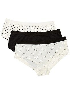 Lot de 3 shorties