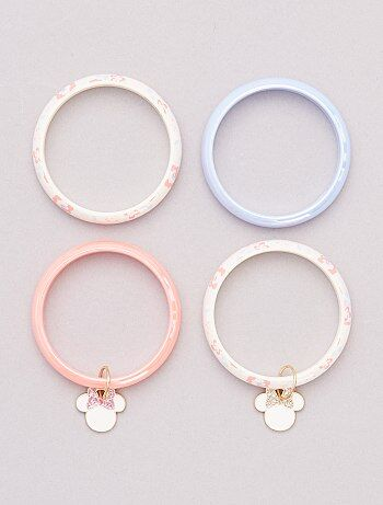 Lot de 4 bracelets 'Minnie Mouse' de 'Disney'