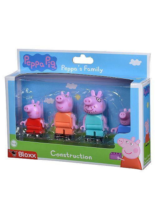 Lot de 4 figurines 'Peppa Pig'                             rose