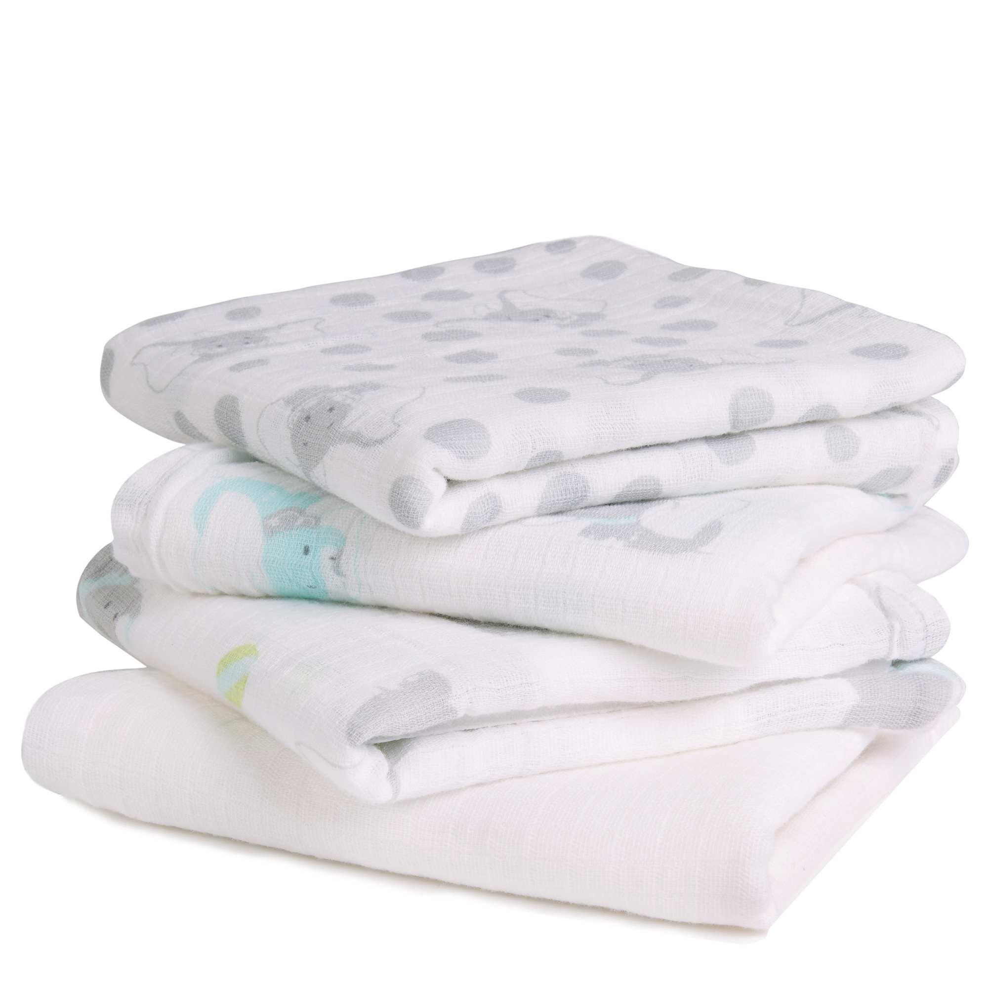 Couleur : gris, MINNIE, ,, - Taille : TU, , ,,Utilisés à l'origine comme couche lavable, les langes en mousseline de coton 'Ideal