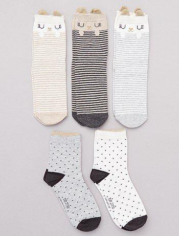 58bdf2da44a34 Soldes chaussettes fille et collants - vêtements Fille | Kiabi