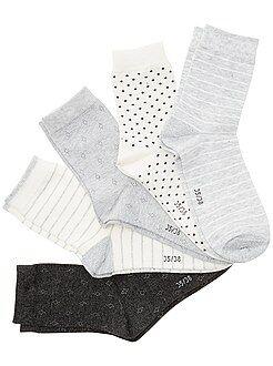 Collants, chaussettes - Lot de 5 paires de chaussettes