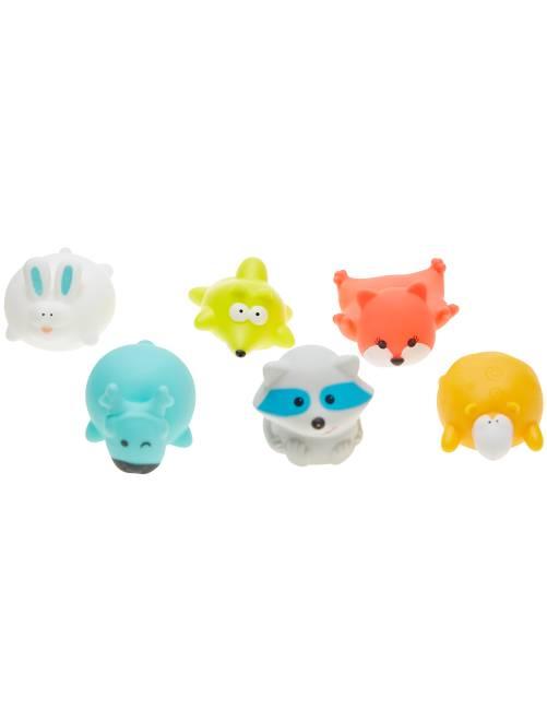 Lot de 6 jouets de bain 'Badabulle'