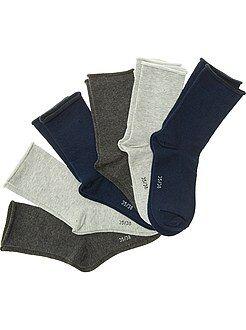 Lingerie du S au XXL Lot de 6 paires de chaussettes