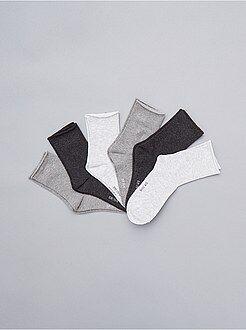 Collants, chaussettes - Lot de 6 paires de chaussettes - Kiabi