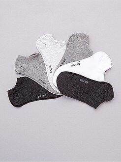 Collants, chaussettes - Lot de 6 paires de socquettes - Kiabi