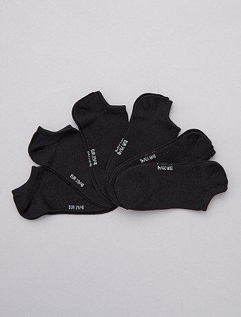 Lot de 6 paires de socquettes - Kiabi